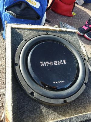 "Hifonics Elite 12"" for Sale in Colorado Springs, CO"
