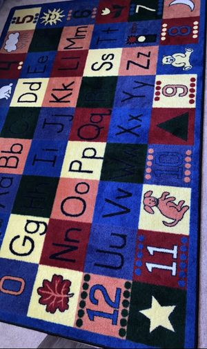 Children's Area Rug Learning Mat for Sale in Salisbury, MD