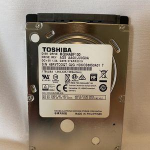 """MQ04ABF100 Toshiba 1TB/1000GB 5400rpm Sata 7mm 2.5"""" Hard Drive 128mb, 6 Gbit/s for Sale in Berkeley, CA"""