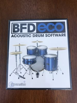 Acoustic Drum software - fxpansion BFD Eco software- new sealed package for Sale in Bradenton, FL