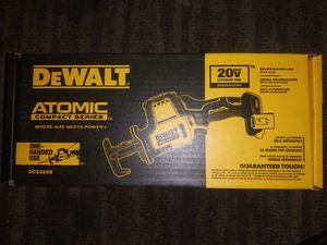 Dewalt 20v Atomic compact series recipricating saw for Sale in Hemet, CA