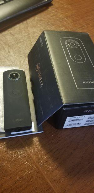 Ricoh theta s NEW..360video camera for Sale in Centreville, VA