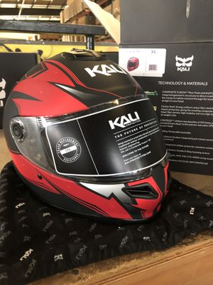 """Kali Protectives """"catalyst"""" full face motorcycle helmet for Sale in San Jose, CA"""