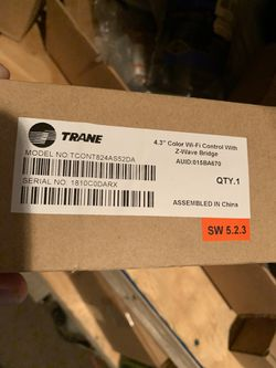 Trane digital thermostat. Freon. Hvac. R-22 new in unsealed box for Sale in Moapa,  NV