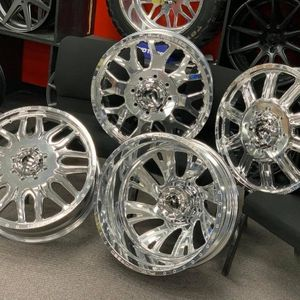 DUALLY WHEELS TIRES SALE __ BEST DEAL ON ALL SIZES CALL US WE CARRY ALL SIZES WE FINANCE for Sale in Houston, TX