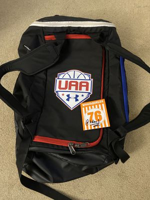 under armor basketball aau duffle & backpack for Sale in Houston, TX