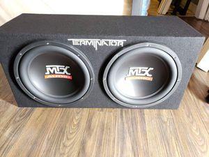 "New 12"" Speaker subwoofer. Bosina nueva. for Sale in Stockton, CA"