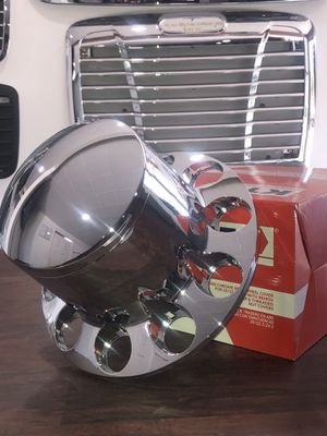 Round Rear Wheel Cover With Threaded Nut Covers For Rim 20/{link removed}.5 In ABS Chrome for Sale in Oakland, CA