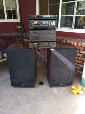 Marantz stereo system Fisher speakers for Sale in Fresno, CA