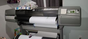 HP Designjet 5500ps Large Format Printer for Sale in Lincoln Acres, CA