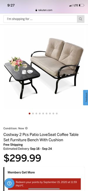 New 2 piece patio set for Sale in Fresno, CA