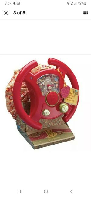 B. You B. Driven Steering Wheel Toy Lights Up Musical Sound Effects for Sale in Rose Hill, KS