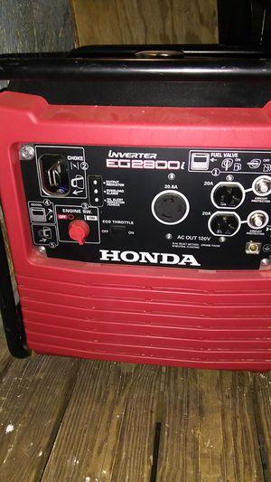 Honda inverter generator EG 2800 for Sale in Milton, FL