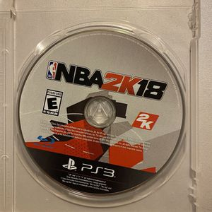 NBA 2K18 (Sony PlayStation 3 PS3) for Sale in Spartanburg, SC