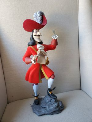 Disney Villain Captain Hook sculpture statue Peter Pan Figurine for Sale in Placentia, CA