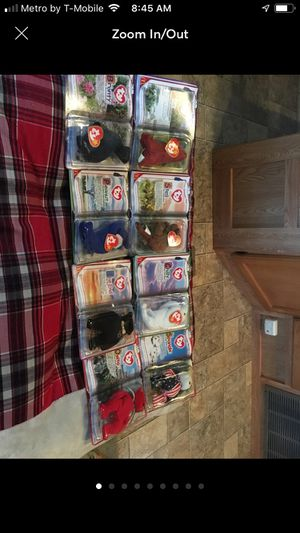 16 Mc Donald's ty Beanie babies for Sale in San Antonio, TX