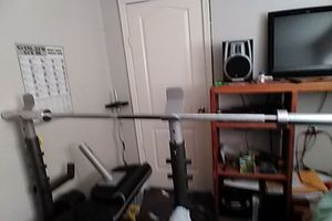 Olympic barbell for Sale in Modesto, CA