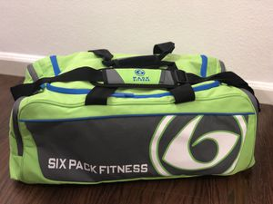 Price Lowered ~ 6 Pack Fitness Gym Duffle Bag for Sale in Tampa, FL