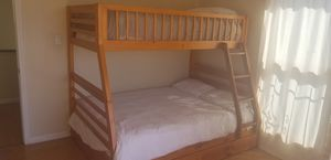 Twin over full bunk bed for Sale in San Diego, CA