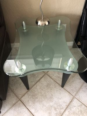 Glass Scandesign end tables for Sale in Gulfport, FL