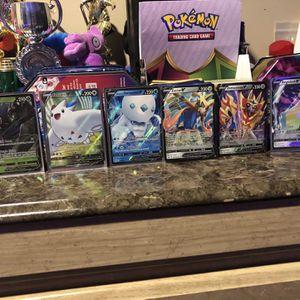 6 Pokémon V Cards for Sale in Germantown, MD