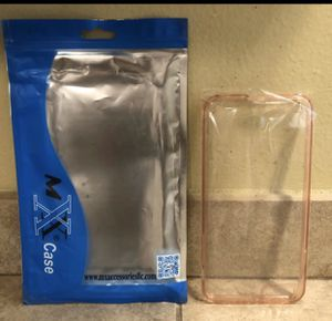 🥰 Rose Gold Clear Cell Phone 📲 Case I Phone 8 Plus for Sale in Fresno, CA