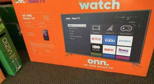 "50"" 4K Smart TV with Roku!!! New ! O738P for Sale in Dallas, TX"