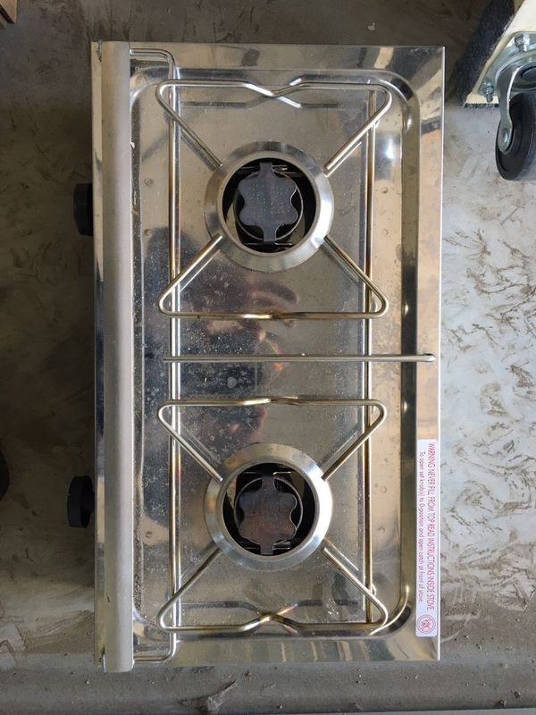 Domitec camp stove gently used