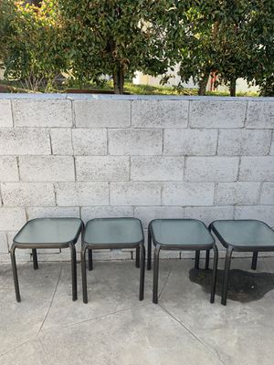 Patio side tables 4 for $15 for Sale in View Park-Windsor Hills, CA