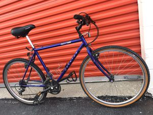 """26"""" QUANTUM M300 MEDIUM FRAME 19"""" MOUNTAIN ROAD HYBRID BIKE! 21 SPEED QUIK SHIFT SHIMANO! $55 FIRM! for Sale in Willowbrook, IL"""