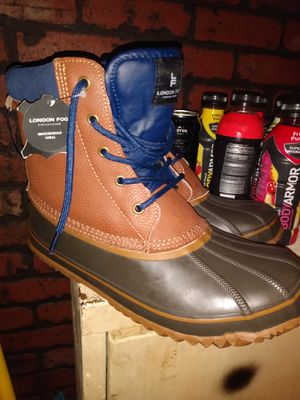 LONDON FOG INSULATED WATERPROOF MENS SIZE 10 BOOTS BRAND NEW $70 for Sale in Philadelphia, PA