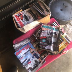 Huge Lot Of Magazines Honda Tuning Import Racer And Others for Sale in Daly City,  CA