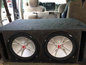 Kikers 12 s 2 amplificadores episentro esterio for Sale in Edinburg, TX