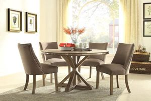 🌲Homelegance Beaugrand Brown Round Dining Set for Sale in Berwyn Heights, MD