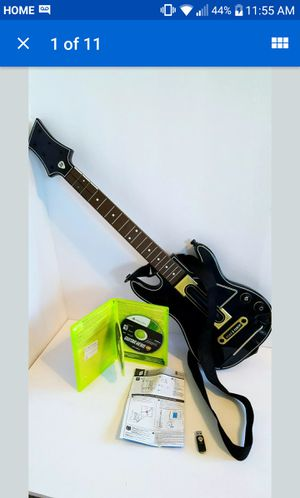 Guitar hero live Xbox 360 for Sale in St. Petersburg, FL