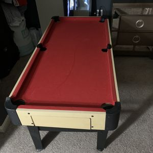 Pool Table and fusball Table for Sale in Laurel, MD
