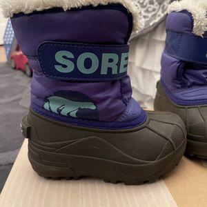 Sorel toddler snow boots for Sale in Laurel, MD
