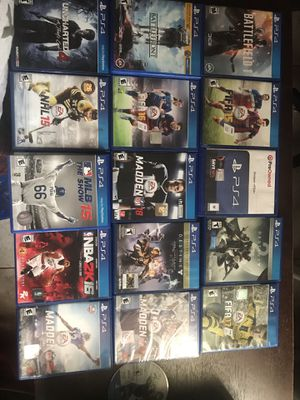 PS4 games with Delivery In Kissimmee areas included . for Sale in Kissimmee, FL