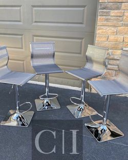 Brand New! $80 Each 4 Gray Mesh Bar Stools for Sale in Orlando,  FL