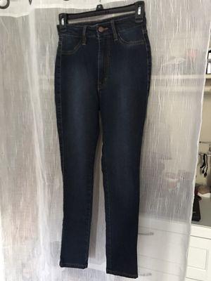 Fashion Nova / High Rise Dark Wash Jeans for Sale in Huntington Beach, CA
