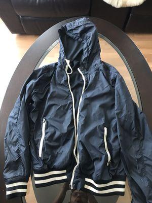 Mens H&M Windbreaker Rain Jacket Coat Hoodie Zip Up for Sale in San Leandro, CA