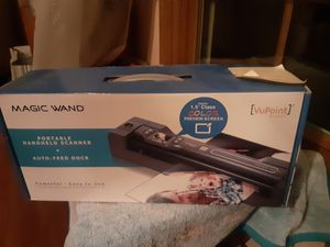 As shown brand new portable scanner for Sale in Downers Grove, IL