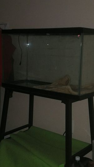 Fish tank. And stand for Sale in Houston, TX