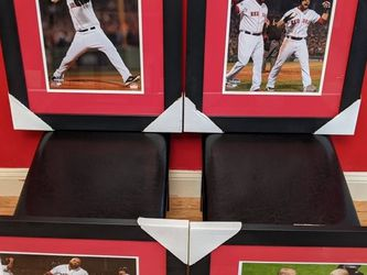 2013 World Series Red Sox 4 Framed Photographs for Sale in Boston,  MA