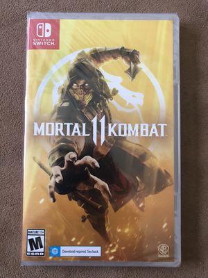 NEW- Nintendo Switch Game- Mortal Kombat 11 for Sale in Corona, CA