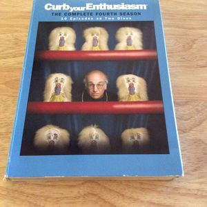 Curb your enthusiasm season 4 DVD for Sale in King of Prussia, PA