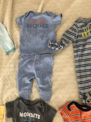 Baby boy clothes all size newborn for Sale in Virginia Beach, VA