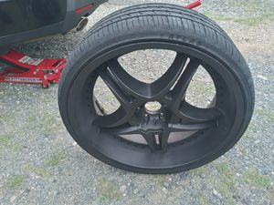 24s rims 5x115 for Sale in Charlotte, NC