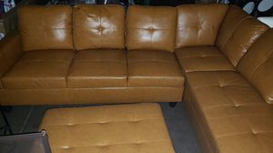 Leather Couch for Sale in Fresno, CA