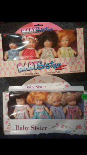Baby sister dolls for Sale in Anoka, MN